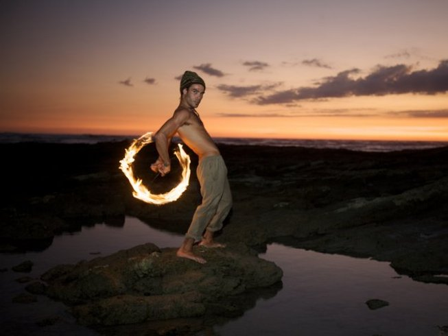 7 Days Fire Dance and Yoga Retreat in Costa Rica