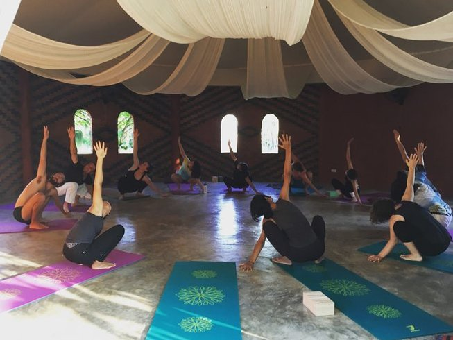 8 jours en stage de yoga ananda à Chiang Mai, Thaïlande