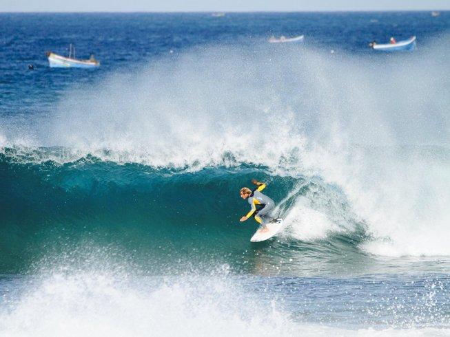 8 Days Pro Surf Coaching Level 1 & 2 Surf Camp Agadir, Morocco