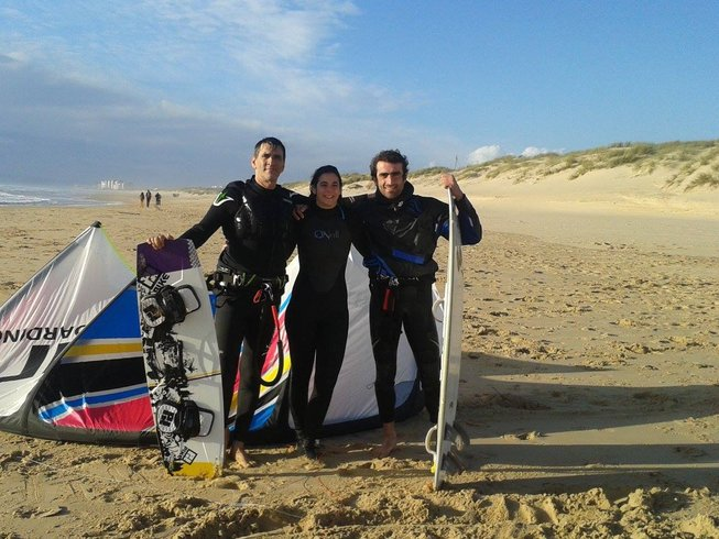 8 Tage Kitesurfen und Yoga Retreat in Sesimbra, Portugal