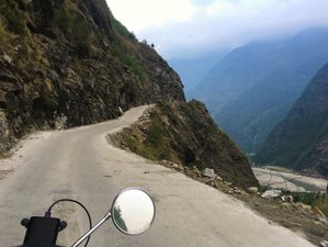 9 Day Guided Motorcycle Tour: Ride to the Hidden Kingdom of Manang, Nepal