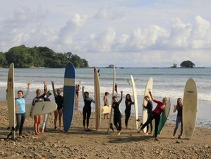 11 jours en stage de yoga, surf et stand-up paddle à Puerto Jimenez, Costa Rica