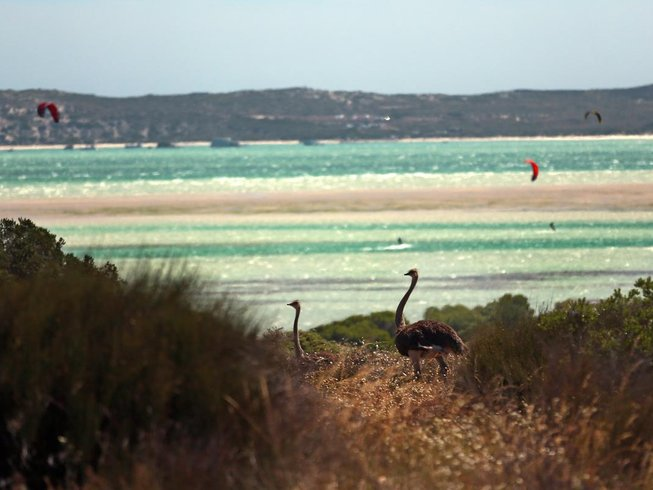 4 Days One-on-One Kitesurfing Holidays in Langebaan, Western Cape, South Africa