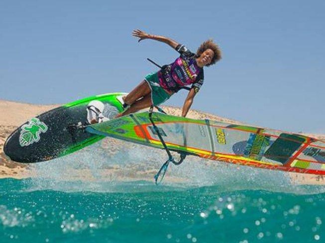 7 Days Windsurfing Camp in Corralejo, Spain