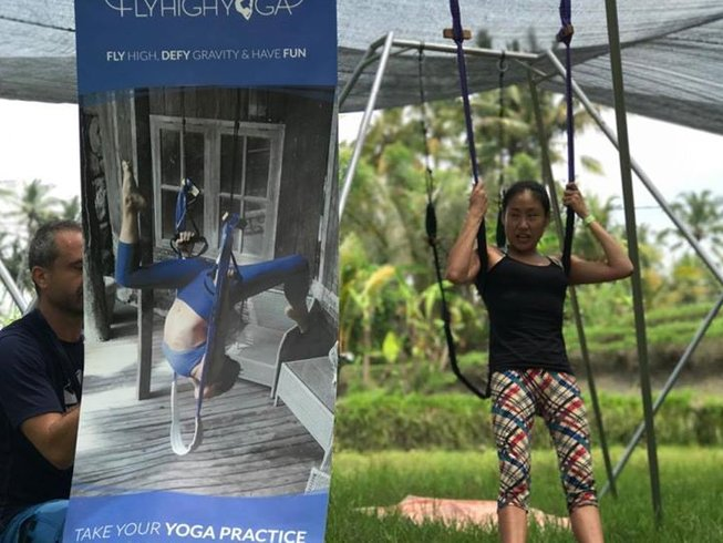 2-Daagse Aerial FlyHigh Yoga Retreat in Ubud, Bali