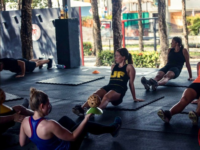 1 Month Crossfit and Boxing Camp in Thailand
