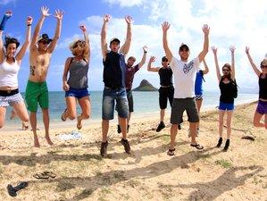 16 jours en stage de yoga, surf et randonnée au North Shore de Oahu, Hawaï