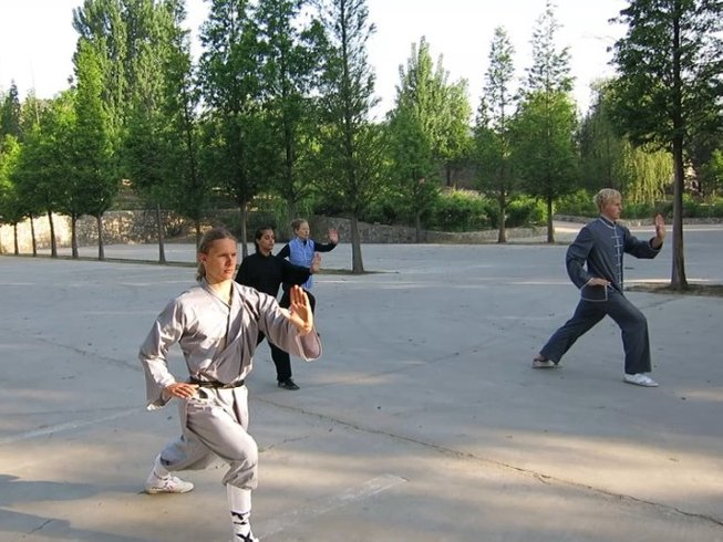 4 Years Foreign Students Martial Arts Training in China