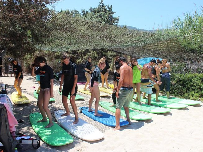 7 Days Affordable Surf Camp Greece on Messakti Beach