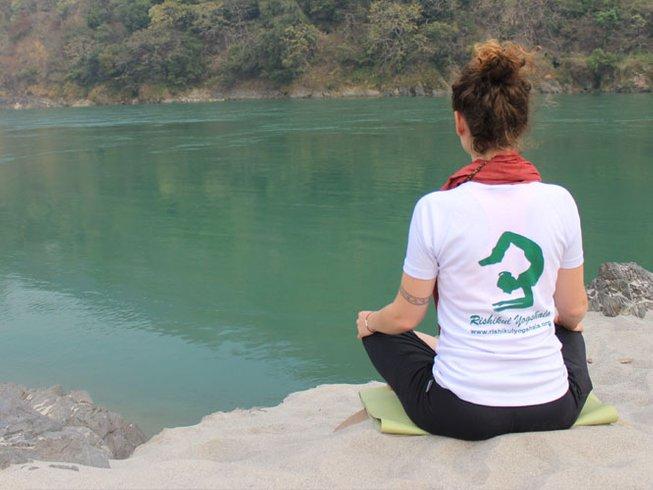 29-Daagse 200-urige Yoga Docentenopleiding in Rishikesh, India