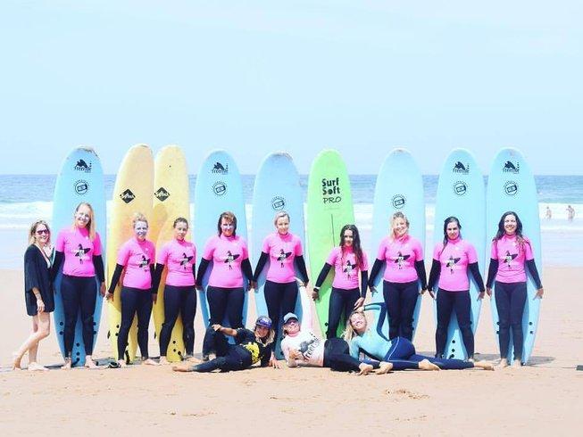 7-Daagse Yoga en Surf Vakantie in Burgau, Algarve, Portugal