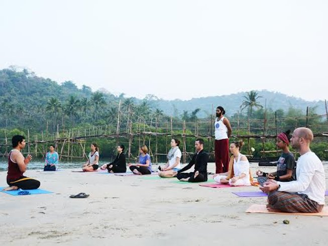 25 Days 200-Hour Traditional Hatha and Ashtanga Yoga Teacher Training in India