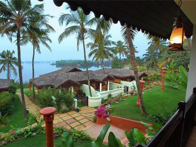 14 Days Ayurveda Yoga Retreats India at Fragrant Nature Backwater Resort