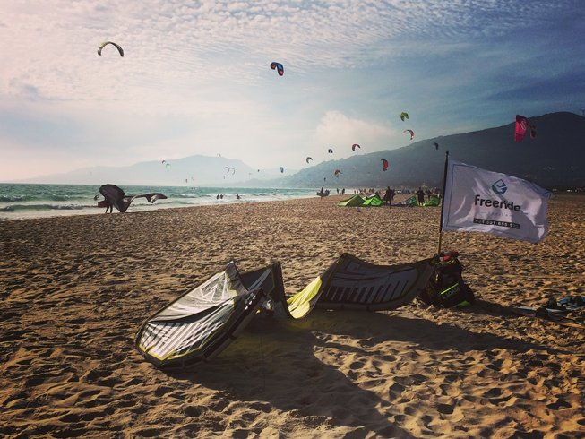 7 Days Wellbeing and Kitesurfing Camp in Tarifa, Spain