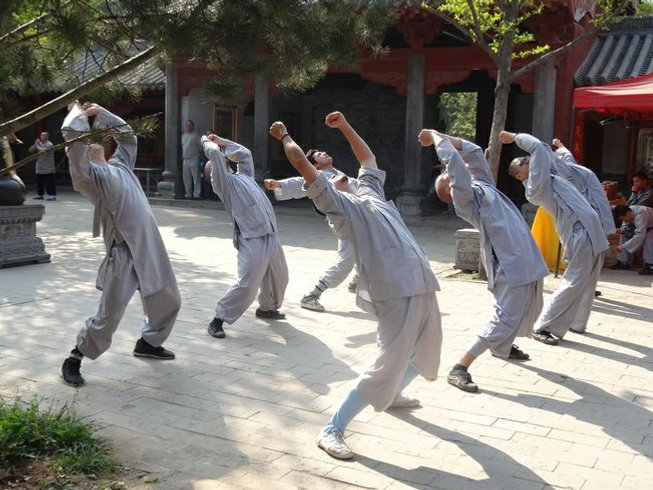 2 Years Study Kung Fu with Shaolin Masters in China