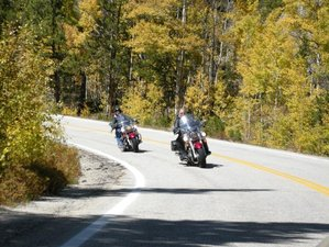 12 Day Self-Guided Lynette's Wild Frontier Motorcycle Tour in USA via Yellowstone National Park