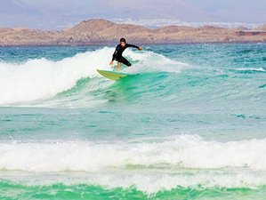 8-Daagse Yoga, Pilates en Surf Retraite in Spanje