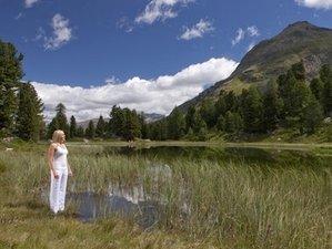 5 Tage Mindfulness Yoga, Meditation und Wandern mit Irina Schumacher in Pontresina, Schweiz