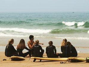 7 Day Beginner / Intermediate Surf Coaching Camp in Tamraght, Agadir