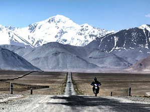 13 Days Pamir Highway Guided Motorcycle Tour in Tajikistan