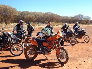 "16 Days ""Canning Stock Route"" Off-Road Motorcycle Tour in Australia"