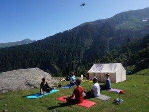 15 Tage Yoga und Ayurveda Camp Inmitten der Natur mit 3 Tages Trek im Himalaya, Himachal Pradesh