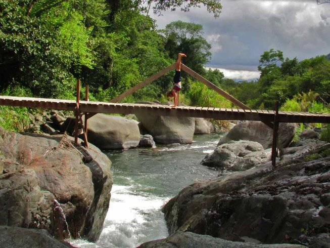 8 Days Jungle & Beach Yoga Adventure in Costa Rica