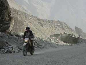 19 Days Central Asia Pamir Highway Guided Motorcycle Tour in Kyrgyzstan, Uzbekistan, and Tajikistan