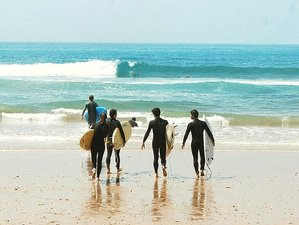 15 Day Yoga Combined with Surf Camp for Surfers of All Levels in Aourir, Agadir