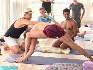8 Day Return to Love yoga4men Yoga Retreat in Aegiali