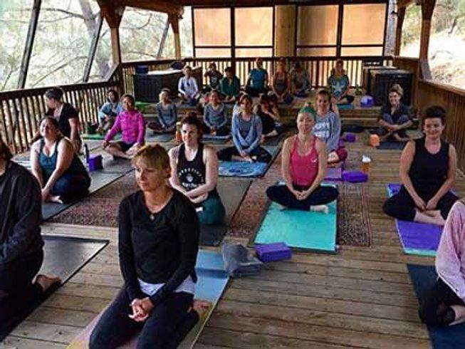 3 días retiro de yoga, vino e invierno en California