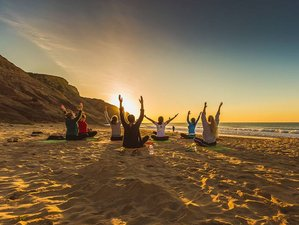 8 Day Beginner and Intermediate Yoga and Surf Camp in Bensafrim, Lagos
