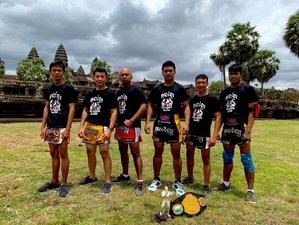 7 Day Fight Camp and Kun Khmer Kickboxing Training in Siem Reap