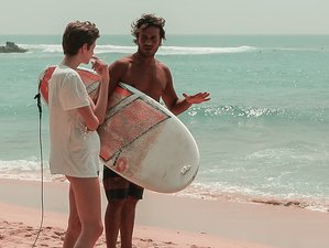8 Day Beginner and Intermediate Surf Camp with Yoga Classes in Ahangama, Southern Province
