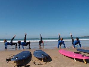5 Days Escape Surf and Yoga Retreat in Peaceful Esmoriz, Portugal