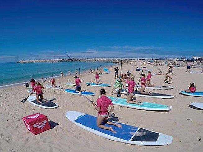 8 Days SUP Yoga Retreat Portugal in Peniche