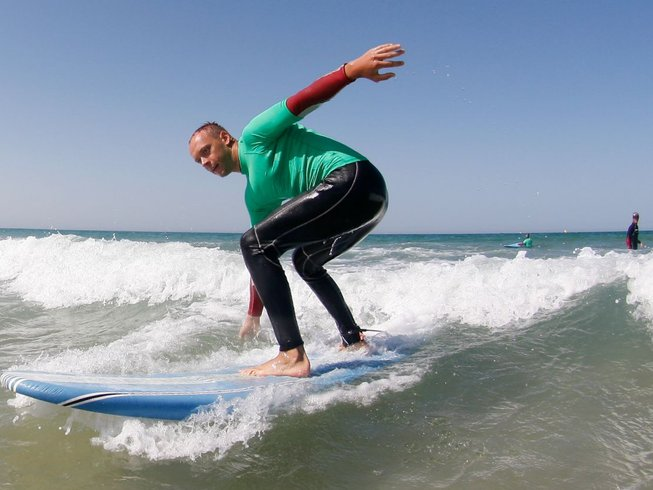 8 Days Yoga and Surf Camp in Andalusia, Spain