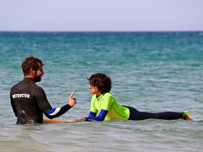 8 Days Family Yoga and Surf Camp in Andalusia, Spain