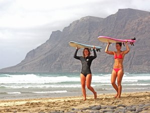 7 Day Surf and Yoga Holiday in Lanzarote, Canary Islands