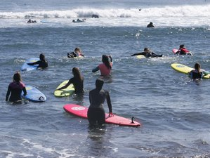 3 Days of Women's Yoga Surf Camp in Pichilemu, Chile