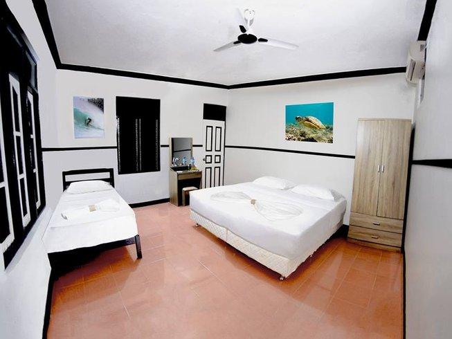 4 Tage Surf und Yoga Urlaub auf Himmafushi Island, Malediven