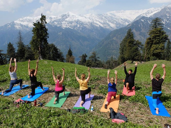 13 Days Trekking and Yoga Retreat in India