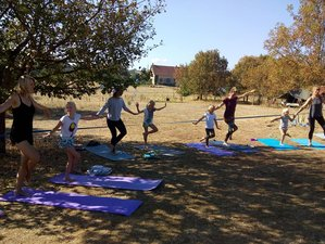8 Day Family Yoga Holiday in Vernusse, Auvergne