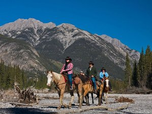 2 Days Sundance Overnight Lodge Horse Riding Trip in Banff, Canada