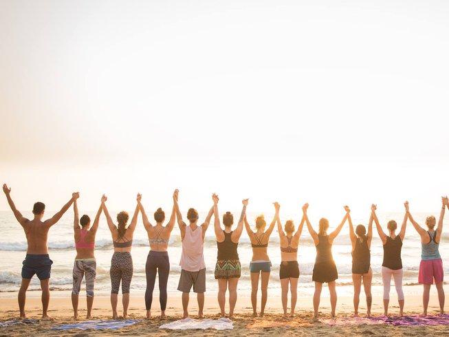 7 días meditación y retiro de Acro yoga en Goa, India