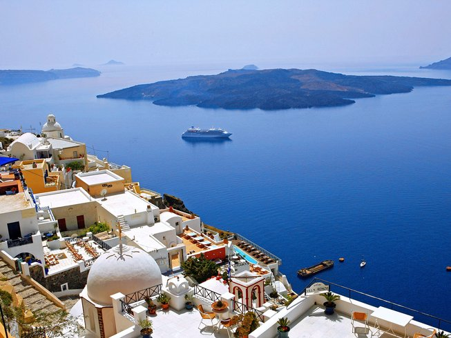 8 Days Greek Culinary Holidays in Santorini, Greece