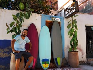 10 days Sunset Surf Camp, with traditional cuisine and authentic accommodation, Tamraght, Taghazout.