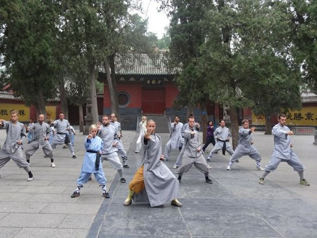 5 Months Kungfu Shaolin Holiday in Deng Feng, China