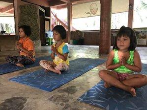 10-Daagse 95-urige Kinderyoga Docentenopleiding in de Jungle van Paksong, Thailand