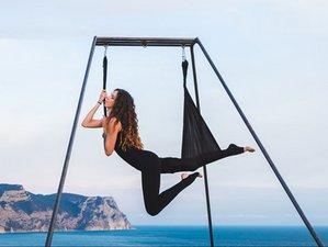4 Days Aerial Yoga Retreat in Zakynthos, Greece